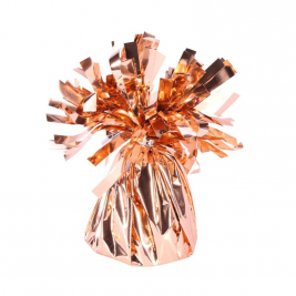 Rose Gold Foil Balloon Weight Pack of 12