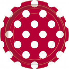 Red Polka Dot   7