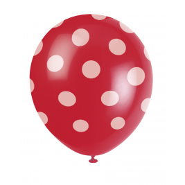 RUBY RED DOTS 12