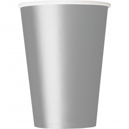 SILVER  9 OZ. CUPS - Pack of 14