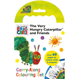 The Very Hungry Caterpillar   Carry Along Colouring Set