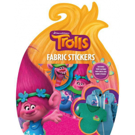 Trolls Fabric Stickers