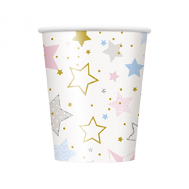 Twinkle Twinkle Little Stars Cups 9oz (8pk)
