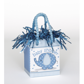 Umbrellaphants Blue Mini Gift Bag Balloon Weights (Sold in 6s)