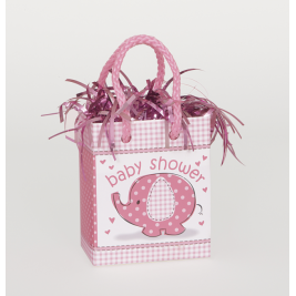 Umbrellaphants Pink Mini Gift Bag Balloon Weights (Sold in 6s)
